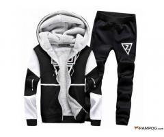 2019 Winter Two Pieces Tracksuit Sets Male