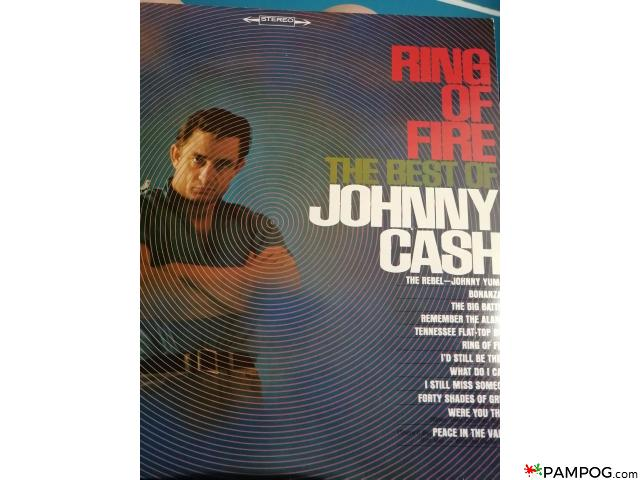 Johnny CASH Ring Of Fire bakelit lemez - 1/1