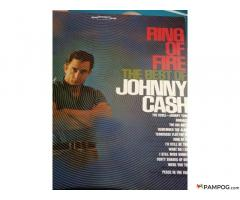 Johnny CASH Ring Of Fire bakelit lemez